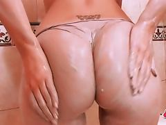 Most Perfect Ass Teen Blonde Has a Big Rack