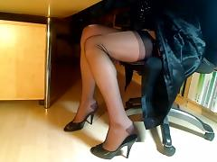 Compilation of feet-legs-nylons and heels