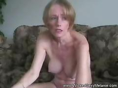 Homemade Sex Funtime With GILF Melanie