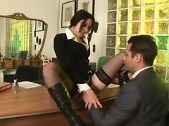 Fabulous Secretary scene with Anal,MILFs scenes