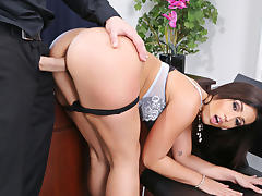 Boss, Boss, Brunette, Fucking, Naughty, Office
