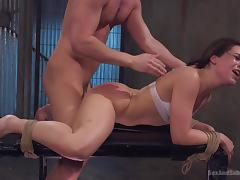 kinky kimber woods enjoying rough fucking
