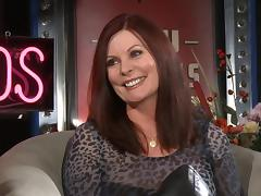 Interview with a milf pornstar in sexy leather boots