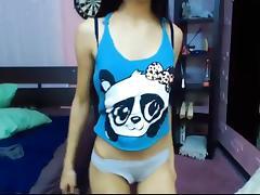 Petite asian strip