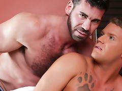 Billy Santoro & Brandon Wilde in Gay Massage House 4, Scene 03 - IconMale