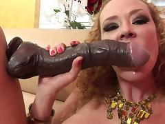 Audrey wants to receive one dick per each of her love tunnels