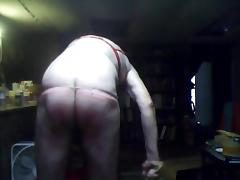Sissy Whipping Boy takes 100 Birthday Spanks for Her