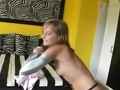 Splendid Pornstar Titty Fuck sex video