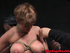 Dee Williams bastinado punishment in dungeon