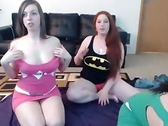 Fabulous Webcam video with Lesbian scenes