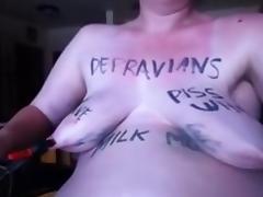 Slave, Amateur, BDSM, Slave