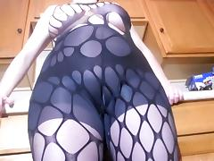 Bodystocking, Amateur, Big Tits, Bodystocking, Feet, Fishnet