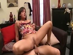 All, Big Tits, Blowjob, Brunette, Facial, Group