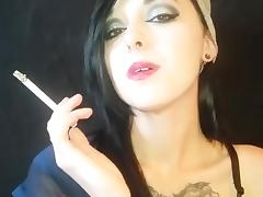 Beauty, Beauty, Smoking, Softcore, Cigarette