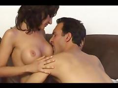 Silicone, Amateur, Big Tits, Boobs, Brunette, Couple