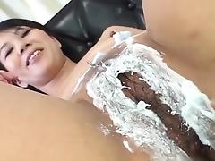 Saya Fujimoto, brunette bitch, wants to fuck hard