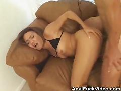 Asian Babe Gets Her Tight Ass Analed