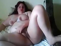 BBW, BBW, Masturbation, Mature, Solo, Webcam