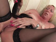 She's called Lorraine and she still knows how to masturbate properly