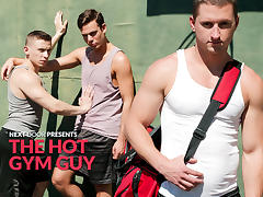 Dante Martin & Max Penn & Benjamin Swift in The Hot Gym Guy XXX Video - NextdoorBuddies