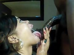 Big Cock, Big Cock, Cum in Mouth, Wet, Big Natural Tits, Cum Swallowing