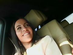 Eveline Dellai fucks a huge cock