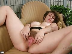 Unshaved, Amateur, Hairy, Pussy, Toys, Beaver