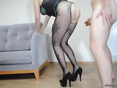 Fucking my sexy slutty wife like a whore