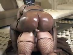 Black lesbians big phat asses huge strapon