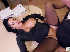 Secretary, Big Tits, Boobs, Fucking, German, Office
