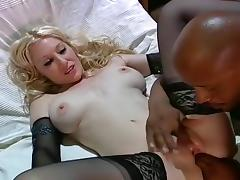 White Babe Ass Fucked By Black Dick