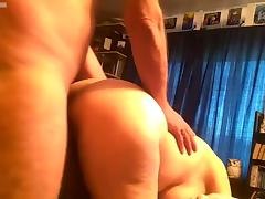 Fuck Debbie on her knees shes a good cock sucker