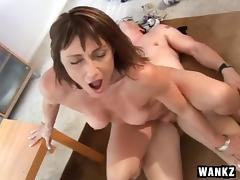 Boss Bends Over And Takes It From Behind