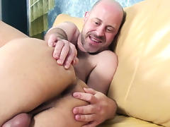 Jeffrey Huntwell, Orion Cross in His First Silver Daddy scene 4 - Bromo