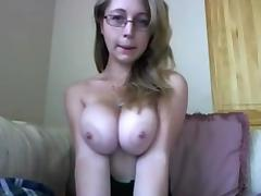 Big Tits, Amateur, Big Tits, Glasses, Homemade, Juicy