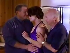 Old Man Dave Joins Wife Fucker In Front Of Hubby