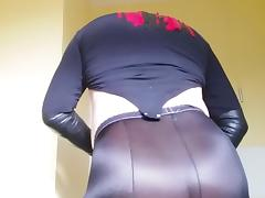 Satin, Nylon, Pantyhose, Leggings, Satin, Silk