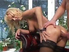 Crazy pornstar in amazing cumshots, gaping adult video