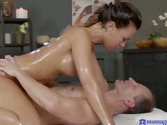 Alicia Wild & George in The Ecstasy Of Sensual Orgasms - MassageRooms
