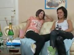 Lesbian Strap On