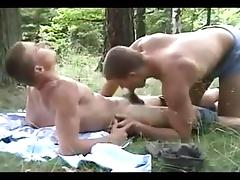 Football Players Fucking in Forest