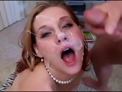 Slutty Pornstar Loves Facials