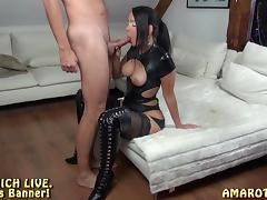 Ass Licking, Amateur, Ass Licking, German, Latex