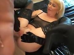 Anal, Anal, German, Mature, Stockings
