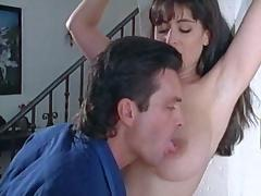 On Her Knees, Big Tits, Blowjob, Boobs, Brunette, Couple