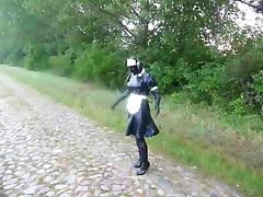 Maid, BDSM, Country, Farm, Latex, Outdoor