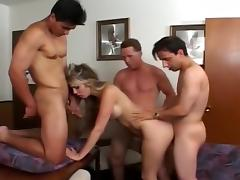 Ciera Sage Fucked By Two Men In Office