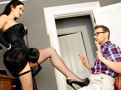 Jayden Jaymes & Erik Everhard  in Prey For The Dying, Scene 1