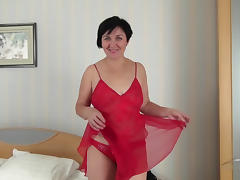 Brunette, Big Tits, Brunette, Hairy, Masturbation, Mature