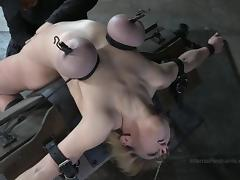 Basement, BDSM, Blonde, Bondage, Boobs, Fetish